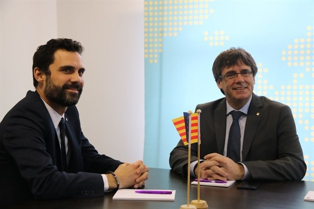 Torrent y Puigdemont