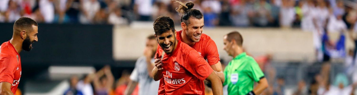 Bale y Asensio (REal Madrid)