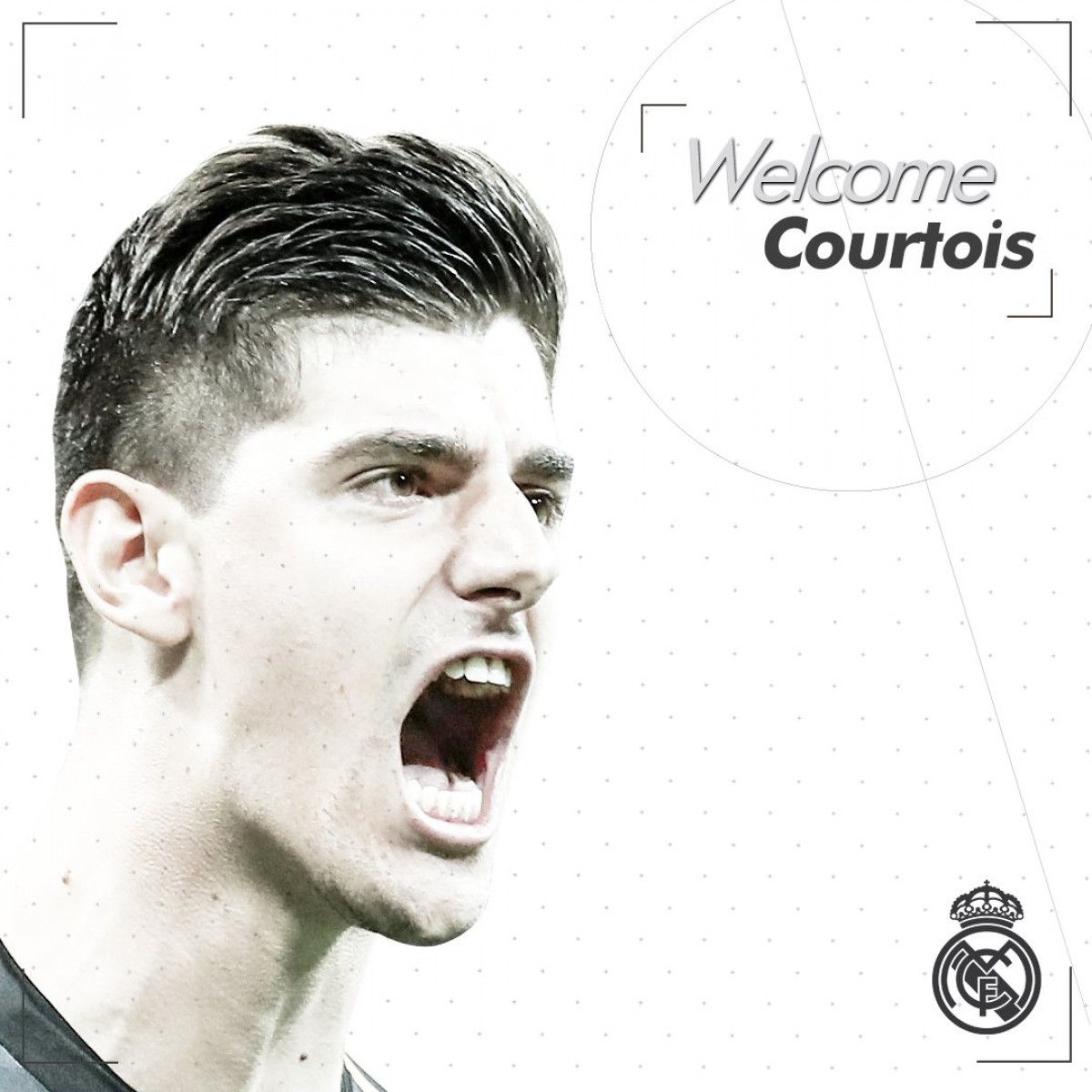 Courtois(Twitter Real Madrid)