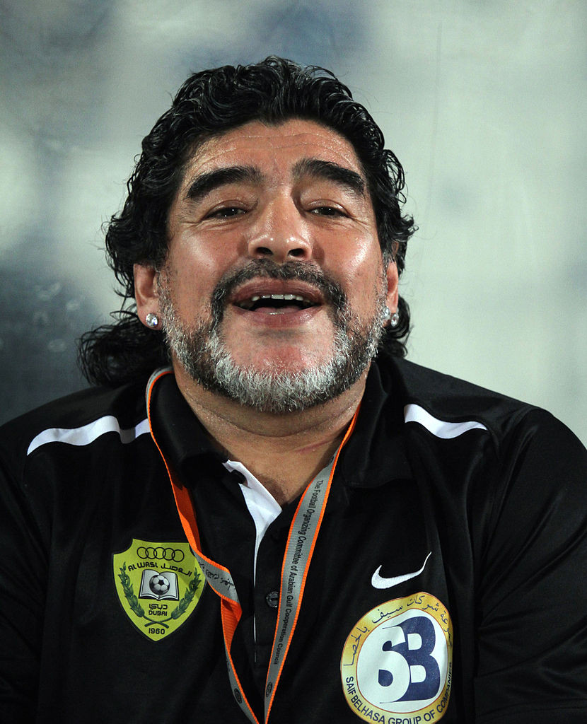 Maradona (Wikipedia Flickr)