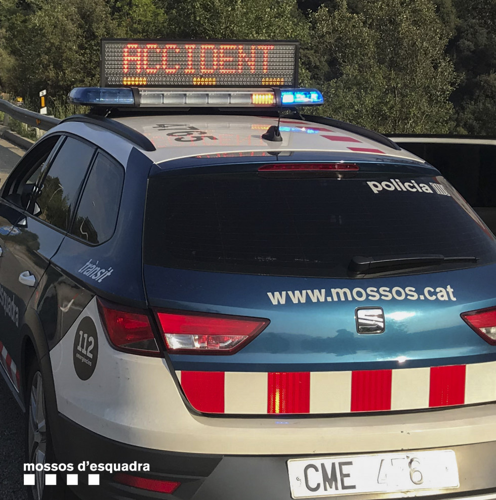 Recurso accidente (Mossos)